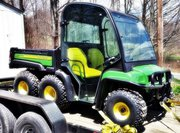 2013 John Deere TH Gator 6x4 Full Cab Snow Blade 50hrs