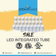Save More Than 75% Energy By Using T8 LED Integrated Tubes