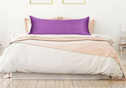 Purple body pillow cover | Get 20% off